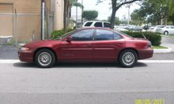 2000 PONTIAC GRAND PRIX 4 DOOR ---3.4 ENGINE, COLD AIR GOOD RUNNING CAR, GOOD ON GAS ASKING $1800.00 124,750 MILES