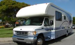 Price: $6000 -- Great condition, everything works -- 2000 GULFSTREAM CONQUEST 30FT V10 Class C Motor Home -- Contact me for more photos and vehicle location.