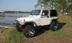 2000 Jeep Wrangler Sport, 93,000 miles, hard top, 6 cylinder automatic trans, A/C, runs great, clean title. Jeep is all stock and never been off road. For more info text at 337 478 6253