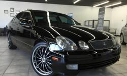 "CLICK FOR FULL INVENTORY: http://5starautos.net/ 916-368-7886 3000 DOWN ! NO CREDIT OK!!! WE DO NO CREDIT CHECK & NO INTEREST FINANCING!!! 2000 LEXUS GS400 BLACK 4DR FULLY LOADED! NAVI. SYSTEM! 20"" RIMS ! NICE CAR RUNS GOOD ! LUXURY! GOOD RIMS!! RUNS"
