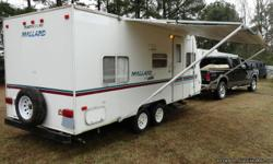 Price: $2000 -- Great condition, everything works -- 2000 Mallard Feather ULTRA LITE TRAVEL TRAILER -- Contact me through contact seller button for more photos and vehicle location.