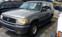 2000 Mercury Mountaineer SUV, Gray / Black 4 Doors 4.0L 210.0hp 6 Cylinders Automatic Transmission 208,679 Miles VIN: 4M2ZU76EXYUJ00600 MORE INVENTORY @ OUR WEBSITE ************** www.drewsautosales.com **************   CHEVY IMPALA DODGE
