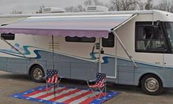 """FOR MORE PICTURES GO TO MY WEBSITE: http://www.bestpreownedrv.com/ 2000 National Sea View w/ Slide Ford V-10 / NEW TIRES Wood Floors Best Preowned RV, """"it's not just our name it's what we sell."""" We are the only RV Company that puts wood floors in the RV"""