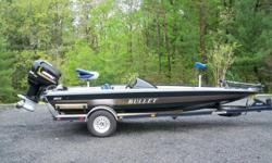 Price:$6400 -- Great condition, everything works -- 2001 20XD BULLET BASS BOAT225 MERCURY HIGH PERFORMANCE -- Contact me for more photos and vehicle location.