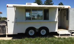 2001 WW Trailers built for concessions 16x8' Trailer nose has 2005 generator 300hours, 12500 watts Exterior is clean and ready for your logo or advertising Comes with: full size refrigerator, full upright freezer (new in 2009), triple sink, handwash sink,