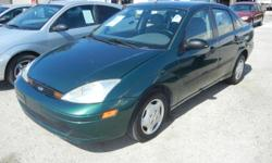 2001 FORD FOCUS LX VIN: 1FAFP33P31W342224 2.0 LITER 4-CYL AUTOMATIC FRONT WHEEL DRIVE EQUIPMENT AIR CONDITIONING, AMFM STEREO, CASSETTE, POWER STEERING, DUAL AIR BAGS, MILEAGE??116315 SELLING FOR??$4,495 LANCASTER AUTO CONSIGNMENT 144 EAST AVE G4
