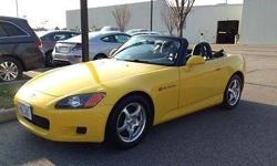 Click here. Look at this 2001 Honda S2000 and fall in love with the summer! See yourself riding in this cool car? Imagine! Newly listed, come see this fabulous car located in Chesapeake, VA.