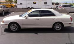 2001 HYUNDAI XG300 WITH 84K MILES 6 CYL MOTOR AUTO TRANS LEATHER SEATS SUNROOF COLD A/C SMOGGED NO TAX 702-296-4060 $3000.00