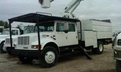 ALTEC LRV55 - 2001 INTERNATIONAL 4700 4x2 CREW CAB FORESTRY TRUCK~~STOCK# 369127 **********Small Business Tax Credit Savings! Write off 100% of your Equipment purchase through 12/31/2010!********** DESCRIPTION: Under Reconditioning ? Odometer Miles: