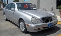 2001 MERCEDES BENZ E320 SEDAN SILVER WITH GREY LEATHER INTERIOR , 108,650 MILES ,HISTORY REPORTSAVILAVLE ON ALL OF ARE VEHICLES! MORE CLEAN CARS! TRUCKS! AND SUV'S! OR CALL FOR APPOINTMENT 210-804-0003 ASK FOR MIKE OR STEVE