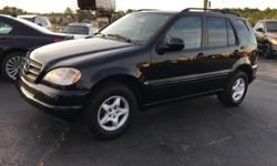 2001 Mercedes Benz ML 320 runs and drives great leather interior ice cold ac non smoking vehicle clean title and emissions 165 k miles well maintained a must see asking for 4500 or best offer
