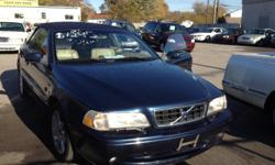 Price:$3,799 Address:Indianapolis, IN 46241 (map) Date Posted:12/17/13 Year:2001 Make:Volvo Model:C70 For Sale By:Dealer Description: Description ZERO 0% INTEREST JUST BRING WITH YOU 1-TWO 2 PROOFS OF INCOME 2-TWO 2 PROOFS OF RESIDENCE 3- FULL COVERAGE
