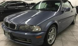 CLICK FOR FULL INVENTORY: http://5starautos.net/  916-368-7886  3,000 DOWN ! NO CREDIT OK!!! WE DO NO CREDIT CHECK & NO INTEREST FINANCING!!!  2002 BMW 330CI CONVERTIBLE* SPORT PACKAGE* VERY CLEAN! LOADED* LEATHER*! LOW MILES! EVERYTHING