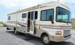 Check out this motorhome. Original Owner, No Smoking, No Pets, It is on the Chevy Workhouse 8.1L chassis. Only 41,715 miles on this very clean motorhome with 2 slide outs. The bedroom slide is longer than most Bounders, as it includes a double-door closet