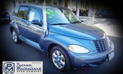 2002 Chrysler PT Cruiser Limited Sport Wagon  automatic 4 door leather seats premium wheels air conditioning LH front side air bag sun roof sliding dual air bags power door locks power windows 103k miles  $4995.00  #317890 stk 2569 Visit