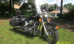 2002 Black harley davidson heritage softail with 27000 mi 1450 motor, new rear tire and brakes