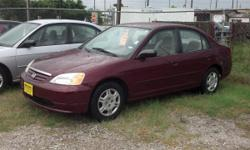* For More Pictures Goto www.moretzimports.com * 2002 Honda Civic LX Automatic Sedan w/ 81K Miles * 1 Owner AutoCheck Vehicle History Report in Hand * No Accidents * Maintained * Newer Goodyear Tires * Extra Reliable 1.7L 4-Cyl Engine * 4 Speed Automatic