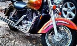 **PRICE REDUCED** 2002 Honda Shadow Aero 1100 14,600 miles, garage kept since 2002 purchase. Beautiful bike that runs great! $3600 or best reasonable offer. Motivated seller! Call 936-856-0308 to schedule time to see bike or ask questions. If no answer