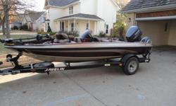 Price:$3800 -- Great condition, everything works -- 2002 Javelin Bass Fishing Boat 170SCBS -- Contact me for more photos and vehicle location.