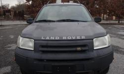 2002 LAND ROVER FREELANDER VIN-SALNY222X2A386215 ENGINE-2.5L V6 Sfi Dohc MILEAGE-104228 GREAT DEAL ON THIS FREELANDER. NO LEAKS A/C HEAT WORKS EVERYTHING WORKS FINE CALL 850-414-3900 ASK FOR MR.HARRIS
