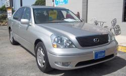 2002 LEXUS LS 430 SEDAN 4.3L V8 ENGINE 132,245 MILES , ALL SERVICES DONE AT LEXUS DEALER! VERY CLEAN SEDAN! FINANCING AVILABLE! PLEASE CALL FOR APPOINTMENT 211-804-0003 ASK FOR MIKE OR STEVE. MORE CARS ,TRUCKS AND SUV'S AVILABLE!