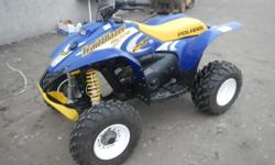 FOR ONLINE AUCTION, Thursday, January 3rd, Repocast.com. 2002 Polaris Trail Blazer 4-Wheeler, VIN# 4XABA25C822840739, 250cc 2-Stroke Oil Injected Engine, Carbureted, Electric and Recoil Start, Forward and Reverse, Front Independent Suspension, 2WD, Front