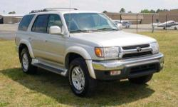 2002 Toyota 4Runner SR5 V6 4x4. Transmission: Automatic. It has fully functional four wheel drive that works great. All miles are the original miles and the title is clean.