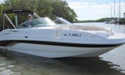 2003, 24' CHAPARRAL 243 SUNESTA DECK BOAT Single Gas MerCruiser 300HP 350 MAG MPI Sterndrive One Owner Boat Always Inside Stored High and Dry in Immaculate Condition! Current Price $20,995 VESSEL WALK-THROUGH: You will not find a cleaner, better