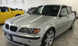 916-368-7886 3000 DOWN ! NO CREDIT OK!!! WE DO NO CREDIT CHECK & NO INTEREST FINANCING!!! 2003 BMW 325I 4DR SILVER! SPORT PACKAGE! FAMILY SIZE! FULLY LOADED! CLEAN LEATHER! LOW MILES!  PASSED SMOG! AND ALL SAFETY INSPECTIONS INCLUDING SERVICE! VERY
