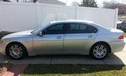 Make: BMW Model: 745Li Year: 2003 Exterior Color: Silver Interior Color: Black Doors: Four Door Vehicle Condition: Excellent  Price: $20,000 Mileage:39,500 mi Fuel: Gasoline Engine: 8 Cylinder Transmission: Automatic Drivetrain: