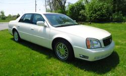 ABSOLUTELY GORGEOUS 03 CADILLAC SEDAN WITH JUST 58,000 MILES! EXTREMELY WELL MAINTAINED. NEW BRAKES AND GOODYEAR TIRES! 4.6L V-8 NORTHSTAR 32VALVE ENGINE ALL OIL CHANGES AT 3000 MI. *HEATED LEATHER SEATS FRONT AND BACK ? EXCELLENT CONDITION *FULL POWER ?