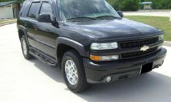 2003 Chevy Tahoe z71 4x4, which features a 5,3L V8 SFI Engine. The engine and transmission operate GREAT. This truck is equipped with 4x4. Everything is electric in this suburb vehicle. All mechanical components function properly as well.