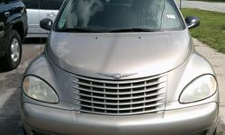 2003 CHRYSLER PT CRUISER TURBO ICE COLD AIR POWER WINDOWS POWER DOOR LOCKS LEATHER INTERIOR BRAND NEW TURBO COME CHECK IT OUT AT: BARGAIN AUTO MART INC 5940 58TH STREET N KENNETH CITY, FL 33709 727-545-0528