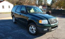 2003 Ford Expedition , XLT , automatic , rund and drives great , power everything , leather seats , alloy wheels , key less entry with alarm , cold a/c , very clean. Only 144 K miles !!!! I am a dealer / Broker . Call me at 770 873 -