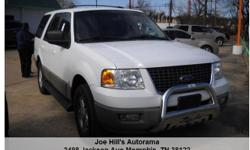 Ford Expedition XLT Automatic White 121610 8-Cylinder 4.6L2003 SUV Joe Hill's Autorama () -