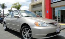 Beautiful, clean Honda Civic EX! 4 doors, manual transmission, AM/FM stereo, CD, power windows, power locks, power steering, and MORE! Was a commuter car! Give Chris a call/send a text to 760-822-2010 or reply to this ad with questions and to schedule