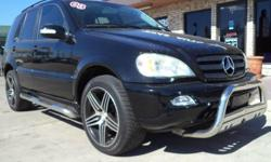 Miles: 68,446 Year: 2003 Make: Mercedes-Benz Model: M350 Title: Clean CAR FAX Guaranteed! Features: Bluetooth, cruise control, power windows, power locks, power seats, heated leather seats, FM/AM/CD/Tape, rear defrost, 2nd row climate controls, sun/moon