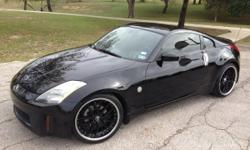 (( Clean Carfax )) 2003 Nissan 350Z 2dr Coupe Enthusiast Edition, 115,426 Miles 3.5L V6 Motor, 5-Speed Automatic Transmission, 287hp, Nissmo Exhaust System, 20in R-1 Racing Wheels Falken 275/30ZR20 Rears 245/35ZR20 Front Tires Leather Seating, Pioneer