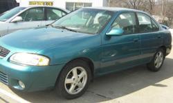 2003 Nissan Sentra GXE - $5,650 Price: $5,650 Year: 2003 Make: Nissan Model: Sentra Miles: 53,590 VIN: 3N1CB51D73L787397 Engine: 1.8L L4 SFI DOHC 16V Transmission: Automatic Drivetrain: Front Wheel Drive Color: Dark Blue Title Status: Rebuilt Why buy from
