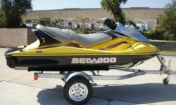 2003 Sea Doo GTX, 125 Hours, 4 Stroke, Seats 3 Adults, New And Used Trailers Are Available. super nice. must see, 321-203-4538