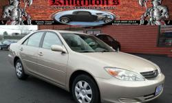 2003 Toyota Camry LE 4dr Sedan -$7,495 ONLY 67K MILES!! ONE-OWNER!! CLEAN CARFAX!! Power Driver Seat; Power Windows, Locks, and Mirrors; AM/FM/CD/Cassette; Air Conditioning; Cruise Control; and Keyless Entry!! AVAILABLE WITH EVERY SALE: FREE 6