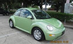 2003 Volkswagen beetle, very clean, 106,725 miles, original factory rims, clean title. For more information please contact me at 8328169673. Gulf Coast used cars 5021 Harrisburg Blvd Houston, TX 77011