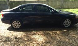 2003 Volvo S60FOR SALE with 87K miles car is very clean has been well maintained and serviced regularly, It is equipped withPower windows,locks,seats and mirrors in terior ois tan leather and very clean it has a factory am fm CD radio