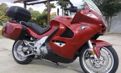 I currently have a 2004 Bmw K1200 RS - ABS for sale. The motor is an 1171cc inline four cylinder, that is liquid cooled, fuel injected, 6 speed transmission, shaft drive, Abs & has a single sided swing arm. Standard equipment on this bike