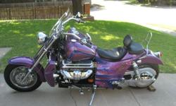 One of kind Custom Paint job. 350ci, 400 Horse Power. Carb Flowed and Calibrated. Pure raw power. Has new Tranny with Hardened Shafts and 4 Carrier Bearings. Installed by local Boss Hoss Dealer. Lots of extras Big Cam K&N Airflow Filter Rear Seat