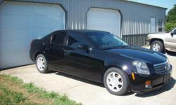 Nice looking car. But it needs a TIMING CHAIN JOB. Has broken timing chain and needs left hand valve cover for it(has hole in it). New $200.00 battery in it new tires all the way around it. nice inside and out. Its black on black. 3.6l eng. 151000 miles
