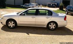 2004 Chevy Malibu Silver, 135k miles, Chevrolet Malibu LT 4dr Sedan Automatic 4-Speed Silver 135210 3.5L V6 2004 SedanZUBE'S AUTO NOW IN MONROE ! We are located at N 2563 Coplien Road Monroe WI. 53566. Just off of Highway KK 40 minutes south