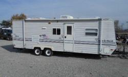 2004 Coachmen Camper 248 TBG Camper, 26 foot tagalong camper, With rear bunks, Sleeps 6 comfortably, Large storage compartment in the rear of the camper almost like having your own storage shed. Floor Plan is, master bedroom in the front, rear