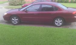 2004 Ford Taurus SE 134,000 mileage, burgandy in color, dark grey CLEANinterior, NO stains or tears, spacious trunk space for traveling, nonsmoker,AC compressor needs replacing, however the car is very reliable! MUSTSALE A.S.A.P! Excellent for