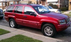 04 GRAND CHEROKEE 6 CILINDERS 4X4 N LINE EDITION LIMITED,LOW MILLES 80 OOO MILLES,CEATS LEATHER ELECTRIC,SUN ROOF ,ALL ORIGINAL 10 CD PLAYERS BOX,NO PROBLEMS, TIRES 4 MONTHS NEW.  CALL